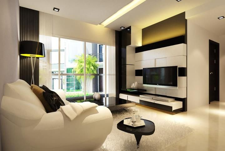 Interior Design - Living - TV console - Luxe Interior Design